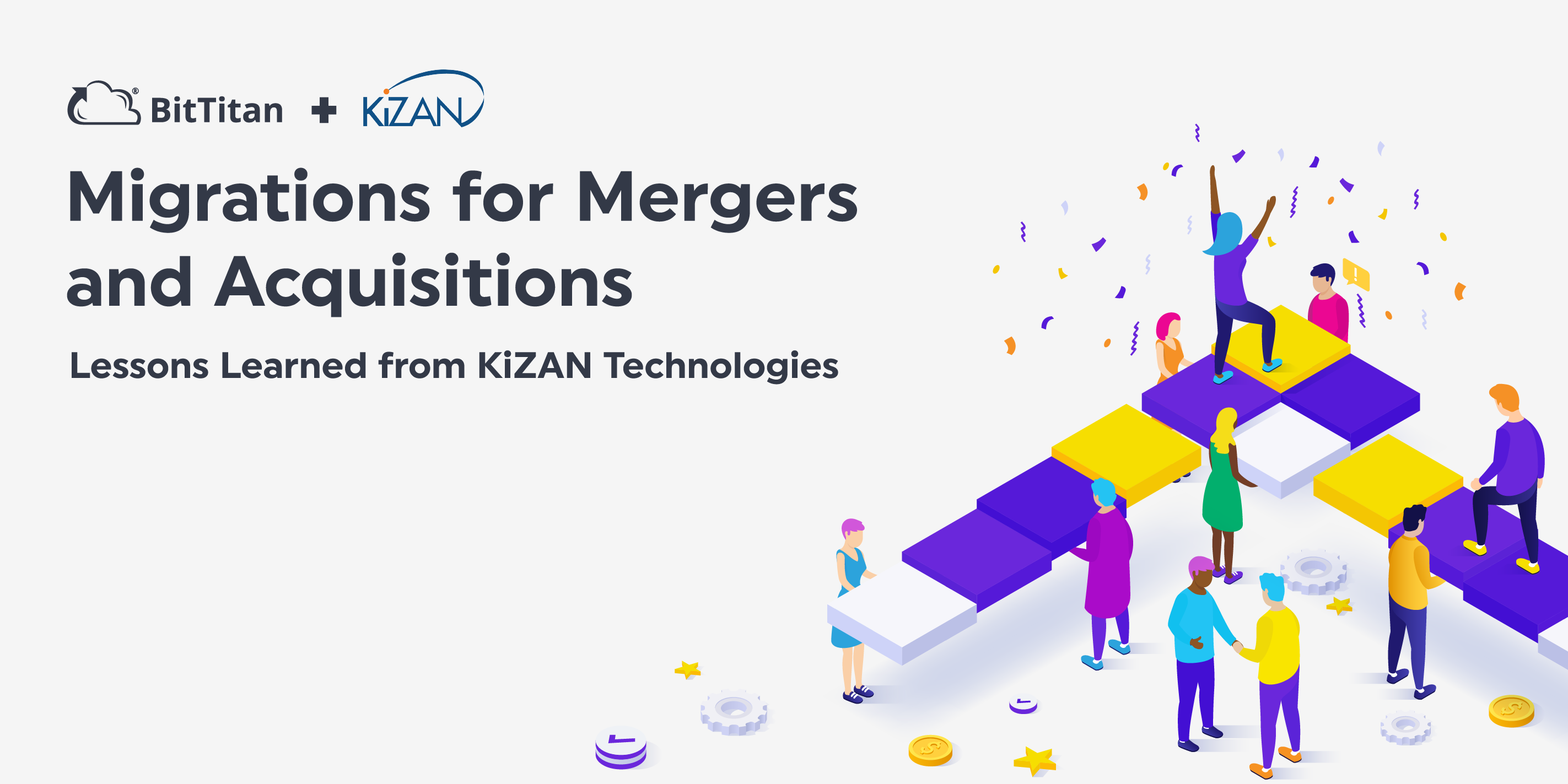 Migrations for Mergers and Acquisitions: Lessons Learned from KiZAN Technologies